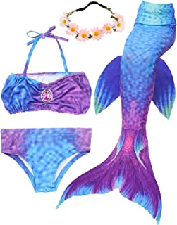 Best mermaid tail swimming costume Reviews
