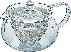 HARIO(ハリオ) 茶茶急須 透明 実用容量450ml 丸 電子レンジ対応 CHJMN-45T