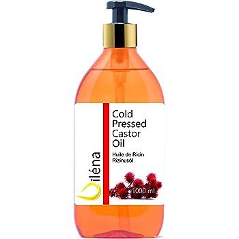 Aceite de ricino - Aceite pureza 100% prensado en frío - Estimula ...