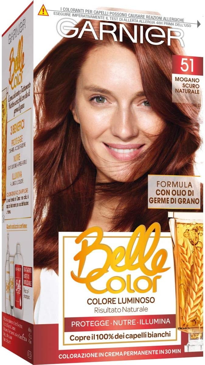 BELLE COLOR 22 castano naturale - Tintes para el cabello
