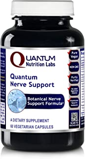 Quantum Nerve Support, 60 Veg caps - Comprehensive Nerve Support Formula