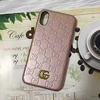 Miguel VICENTEE iPhone XR -US Fast Deliver Guarantee FBA- Luxury PU Leather Style Case Cover for Apple iPhoneXR Only (Monogram Pink)