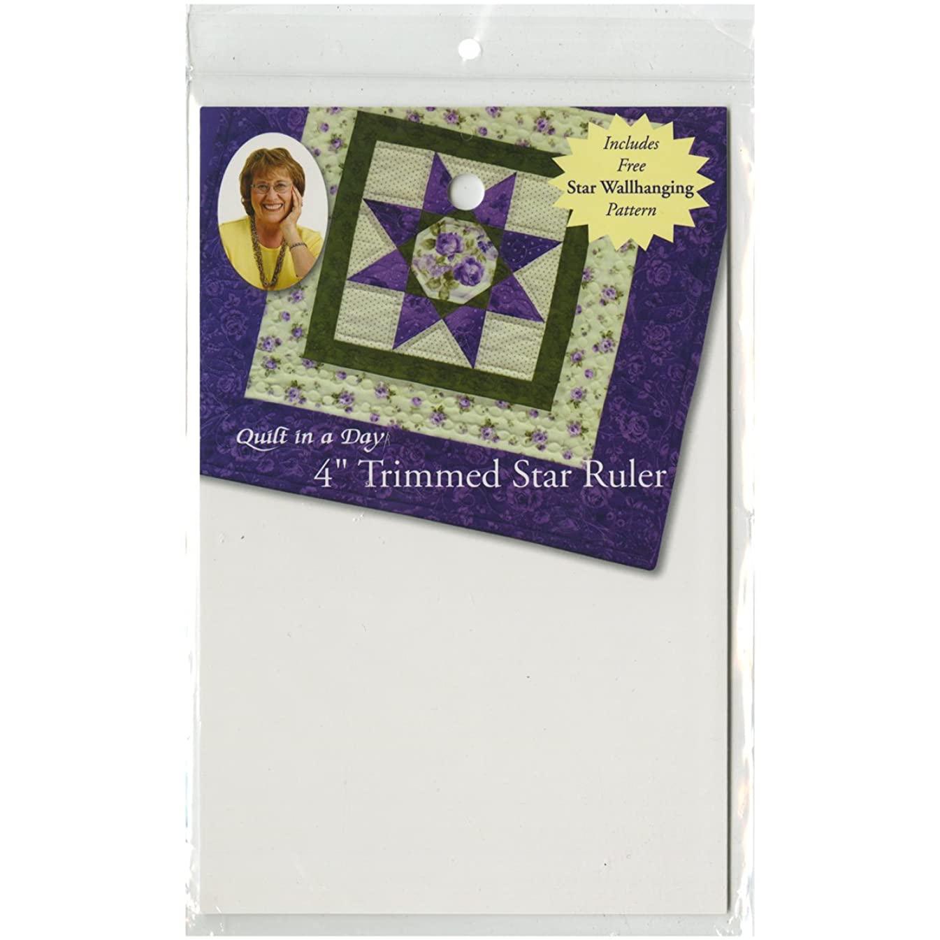 Quilt In A Day Trimmed Star Ruler, 4