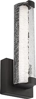 Feiss WB1870ORB-L1 Cutler LED Glass Wall Sconce Lighting, Bronze, 1-Light (5