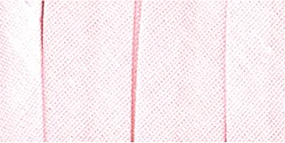 (Rosa) - fita vies de dobra unica 1,3 cm 4 jardas-rosa claro