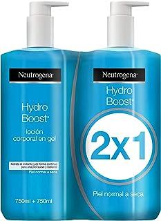 Neutrogena Hydro Boost Loción Corporal Hidratante en Gel, Pack 2 x 750ml
