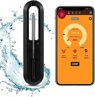 Termometro senza fili per carne, una varietà di tipi di barbecue e impostazioni di temporizzazione, distanza di trasmissio...