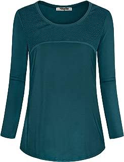 Women's Long Sleeve Activewear Yoga Running Workout T-Shirt Tops