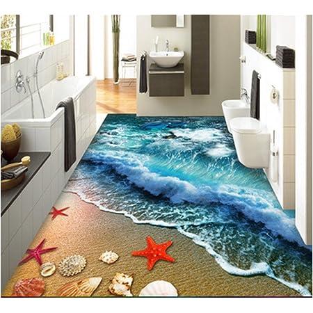 Non Slip Suction Grip Bath Mat Bathroom Kitchen Carpet Doormats 3D Bathroom Rugs