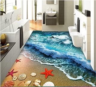 ZaH Thin 3D Area Rug Non-Slip Doormat Carpet Printing Rug for Living Room, Bedroom, Kitchen, Bathroom (2x3-19.7