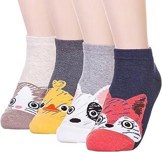 Ksocks Donne Carino Animali Cartoon Personaggio Divertente famosa animazione giapponese Babbo Natale segreto Migliore Idea regalo
