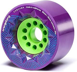 Orangatang Caguama 85 mm Longboard Wheels for Cruising, DIY Electric Skateboards, Eboards (Set of 4)