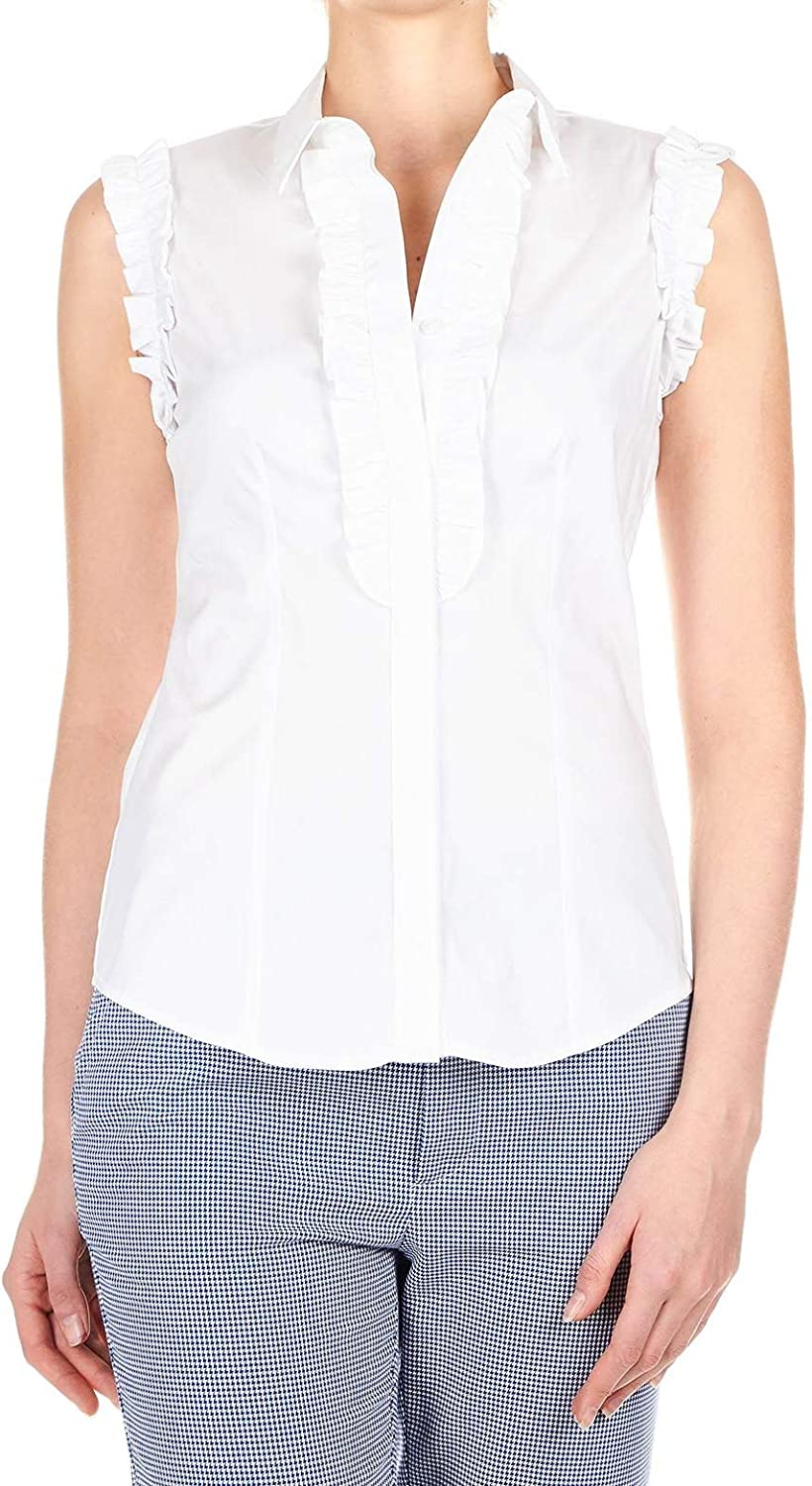 Liu Jeans Women's F19271T937111111 White Cotton Shirt