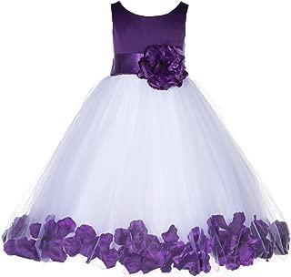 ekidsbridal Rose Petals Flower Girl Dresses Toddler Girl Dresses Graduation Dress Formal Dresses 167S