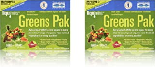 Trace Minerals Research PGG02 - Greens Pak, 30 Packets (Berry) (2 Pack)