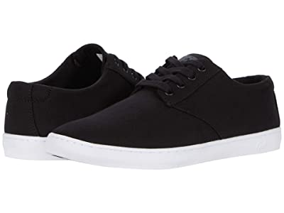 TravisMathew Kruzers 2.0 Canvas (Black/White) Men