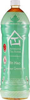 Authentic Tea House Yin Hao Unsweetened Jasmine Green Tea Case, 1.5L (Pack of 12)