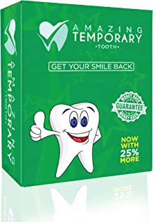 Amazing Temporary Missing Tooth Kit Temp Dental 25% More Than Others
