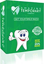 Amazing Temporary Missing Tooth Kit Replacement Temp Dental 25% More Than Others