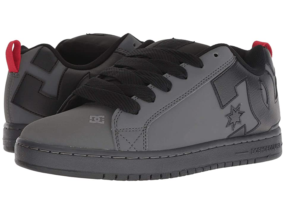DC Court Graffik (Grey/Black/Red) Men