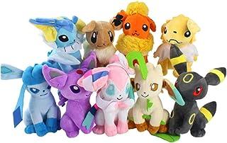 9Pcs Pokemon Pikachu Pokemon 20Cm Glaceon Leafeon Umbreon Sylveon Action Figure Plush Toy Kids Birthday Toy Gift gotcha po...