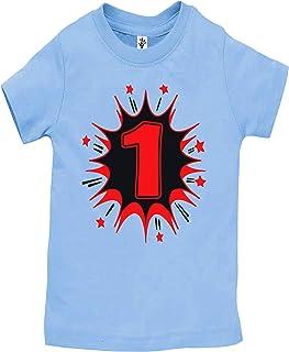 تي شيرتات وملابس داخلية لعيد الميلاد الأول مصنوعة يدويًا من أيدن كورنر - قمصان البطل الخارق لعيد الميلاد الأول