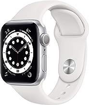 ساعت هوشمند اپل واچ سری 6 - GPS, 40mm) - Silver Aluminum Case) با بدنه نقره ای و بند سفید اسپرت