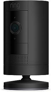Ring Stick Up Cam Battery från Amazon | HD-säkerhetskamera med tvåvägskommunikation | 30 dagars kostnadsfri provperiod på ...