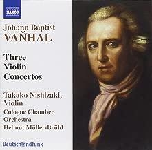 3 Conciertos Para Vliolin -Muller-Bruhl