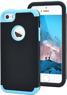 e2f53aa2b4d Dailylux iPhone 5C Funda,Carcasa iPhone 5c Funda iPhone 5c híbrido de Alto  Impacto de