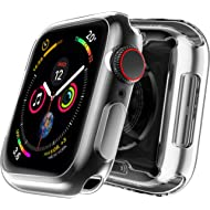 MIZOO Case for Apple Watch Screen Protector, 38mm All Around Soft TPU HD Clear Touch Screen...