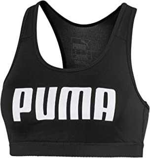 PUMA Women's 4Keeps Bra PM, Black, XS