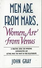 كتاب الرجال من المريخ و النساء من الزهرة للمؤلف جون غراي