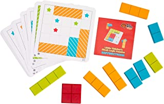 Fat Brain Toys Shape Game - Little Thinker's Block Logic Puzzles Brainteasers for Ages 3 to 5