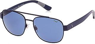 بولو نظارة شمسية كاجوال للرجال - ازرق