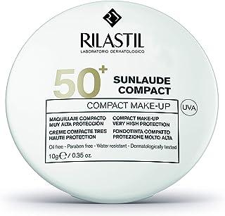 Rilastil Sunlaude - Maquillaje Compacto con Protección Solar SPF 50+ Tono Medium - 10 g