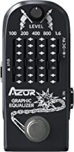 AZOR Guitar Pedal 6 Band Graphic EQ Effects Pedal Graphic Guitar Equalizer Distortions Effect Metal Pedal with True Bypass...
