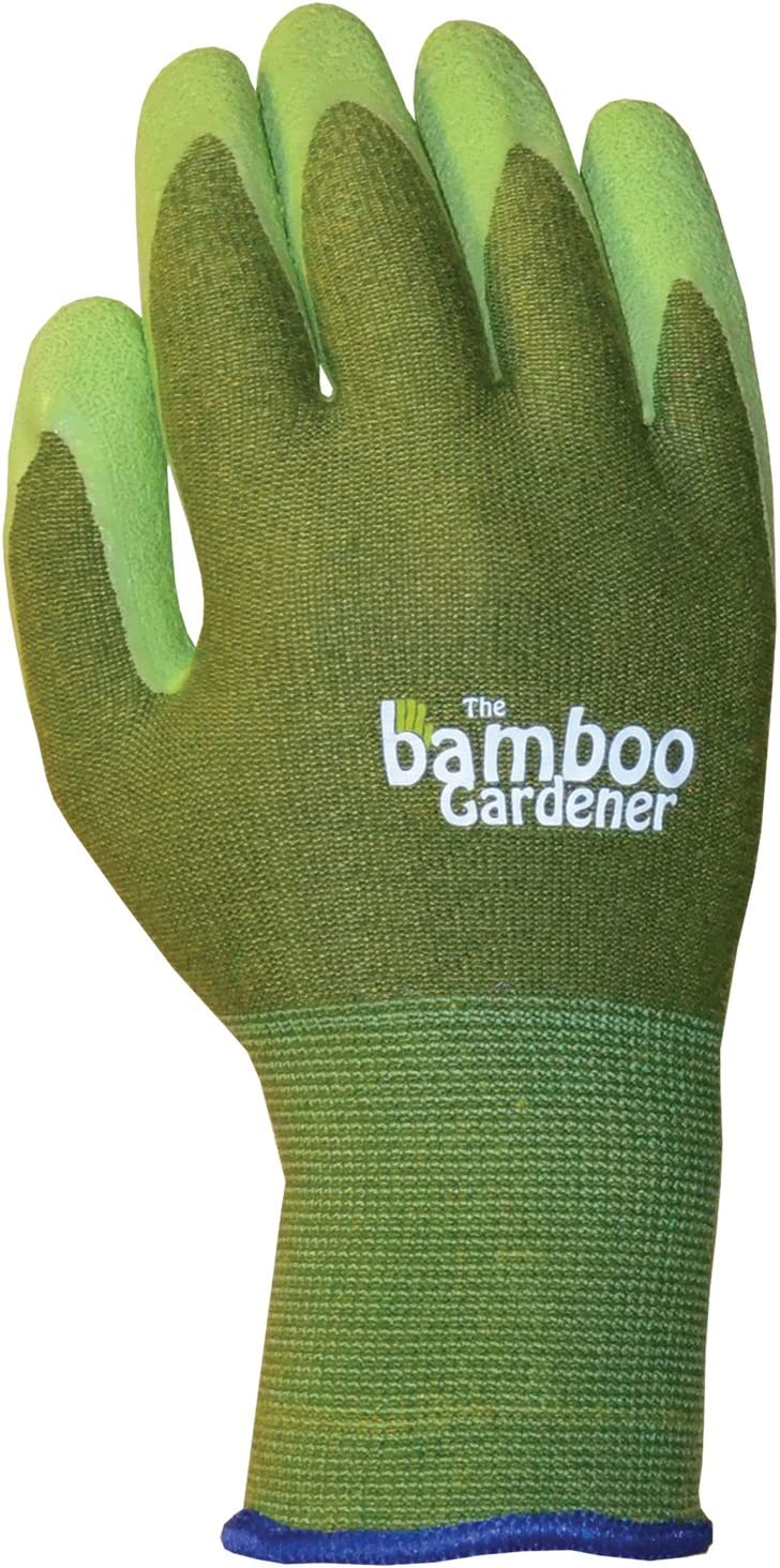 The Bamboo Gardener Rubber Industry No. 1 Gloves Small Palm Ultra-Cheap Deals