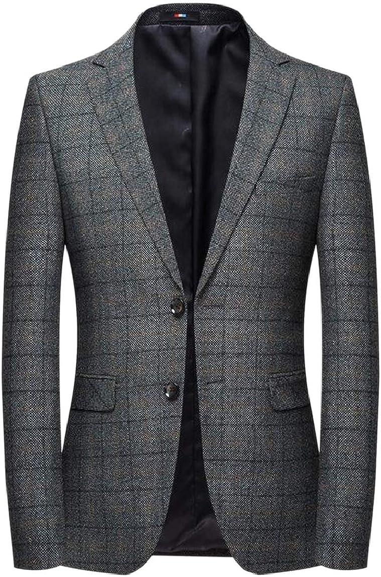 Loveinus Mens Western Plaid Coats Performance Wedding Career Blazer Jacket:  Amazon.ca: Clothing & Accessories