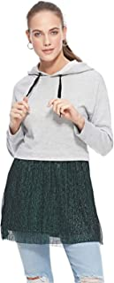Bershka Hoodies For Women, Grey, XS