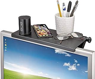 Screen Caddy, TV Shelf, Mountable Monitor/TV/Screen Top Shelf, TV Tray, Shelf Monitor Mount Organizer, Media Device Storag...