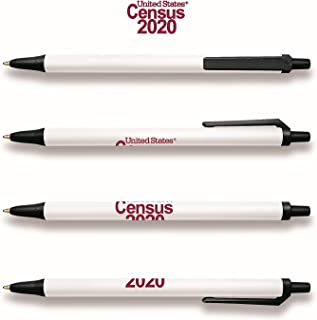 Officially Licensed 2020 Census - Bic Clic Stic Pen - Pack of 300 - $0.77 each