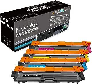 NoahArk Compatible for Brother TN221 TN225 TN-221 TN-225 Toner Cartridge for HL-3140CW HL-3150CDN HL-3170CDW HL-3180CDW MFC-9130CW MFC-9140CDN MFC-9330CDW MFC-9340CDW DCP-9020 Printer-4 Pack(B/C/M/Y)