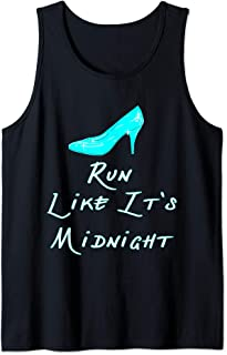 Run Like It's Midnight Funny Running Top for Princesses Tank Top