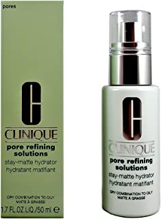 Clinique Pore Refining Solutions Stay-Matte Hydrator Dry Combination To Oily Skin Scrub, 1.7 Ounce