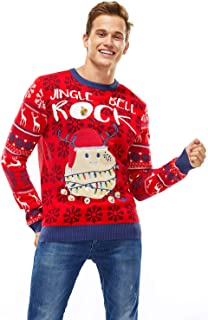 Best ugly christmas sweater with lights and bells Reviews