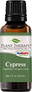 Plant Therapy Cypress Essential Oil 100% Pure, Undiluted, Natural Aromatherapy, Therapeutic Grade 30 mL (1 oz)