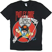 Motley Crue Allister Fiend Black T Shirt