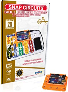 Snap Circuits Skill Builder: Coding - Making Coding a Snap | Arduino Compatible | Perfect Introduction to Arduino Coding | Great Stem Product