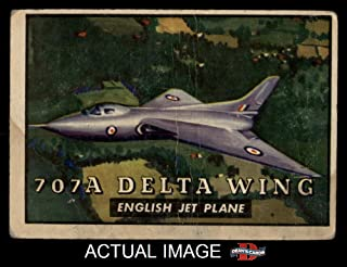 1952 Topps # 111 707A Delta Wing (Card) Dean`s Cards 2 - GOOD